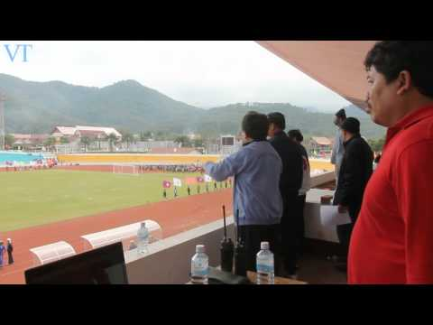 9th Lao National Games Rehearsal