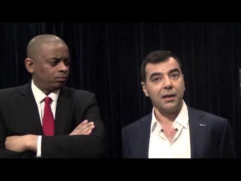 Department of Transportation Secretary Anthony Foxx post-keynote interview