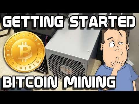 Getting started BitCoin mining using ASIC mining hardware