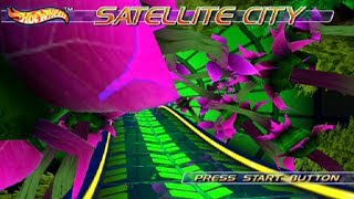 Hot Wheels World Race - Satellite City