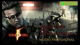 Resident Evil 5 |PS4pro| (NG Profesional) Reto pasarlo con 10 muertes😉!!