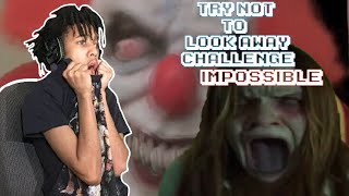 IMPOSSIBLE Try Not To Look Away Challenge (I ALMOST SH*TTED MY SELF)