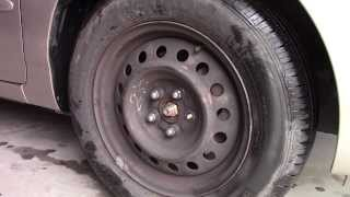 How to Replace Broken Lug Nut Studs -  bolt repair Toyota Corolla fix