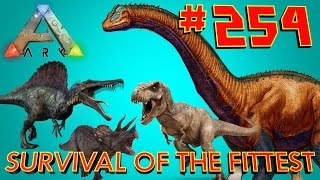 [254] Buffed Brontos And The Endless Tame Horde! (ARK Survival Of The Fittest SOTF)