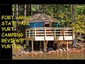 Fort Yargo State Park Yurt Camping Review! Fort Yargo State Park, GA