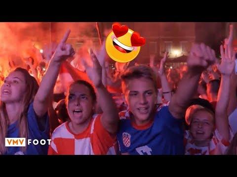Croatia fans Live celebration Croitia VS England World cup 2018 semi final thumbnail