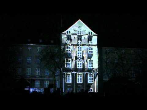 3D Video Mapping Sylwester Nowy Rok 2012 W Szczecinie