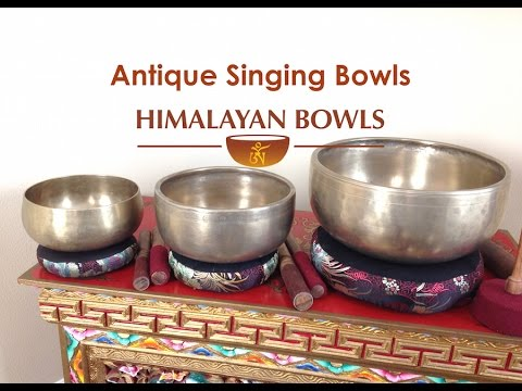 About Antique Singing Bowls