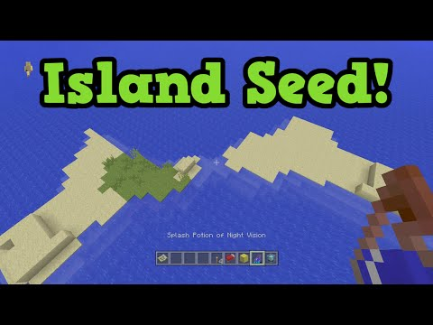 Minecraft Xbox 360 / PS3 TU35 Survival Island Seed