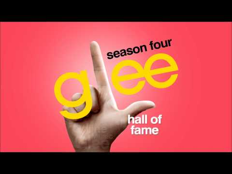 Hall Of Fame - Glee [hd Full Studio] video