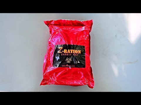 Z Ration Zombie MRE (Meal Ready to Eat) Taste Test