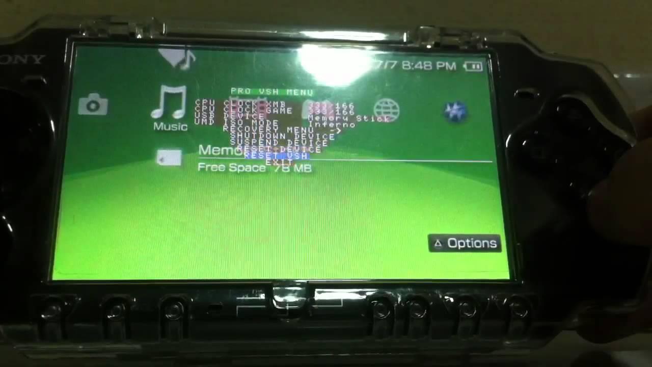 How To Downgrade your PSP Upgrade to a Custom