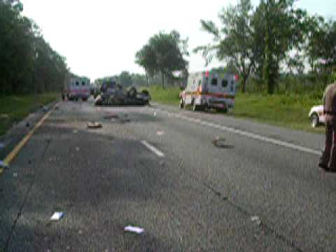 Madison County I-10 Wreck
