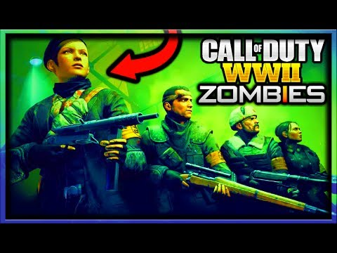 Call of Duty WW2 Zombies ~ Characters & Storyline Revealed *NEW INFO* (COD WORLD WAR 2 ZOMBIES INFO)