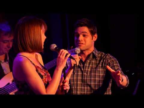 ASHLEY SPENCER and JEREMY JORDAN singing TIE ME UP  Carner & Gregor