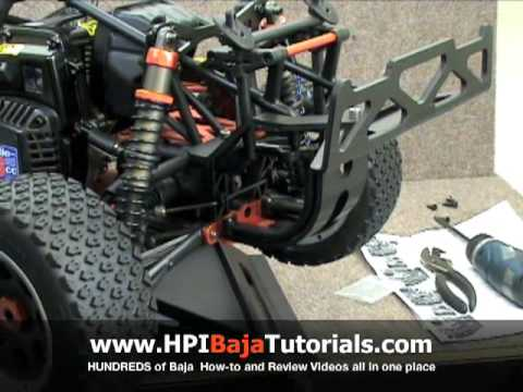 DarkSoul Baja 5T Rear Bumper