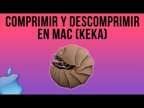 Como comprimir y descomprimir en Mac.