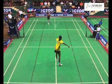 Fransiska Ratnasari (Indonesia) VS Sindhu P V (India) Babak Final Tunggal Putri