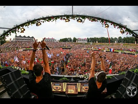 W&W Live at Tomorrowland 2015