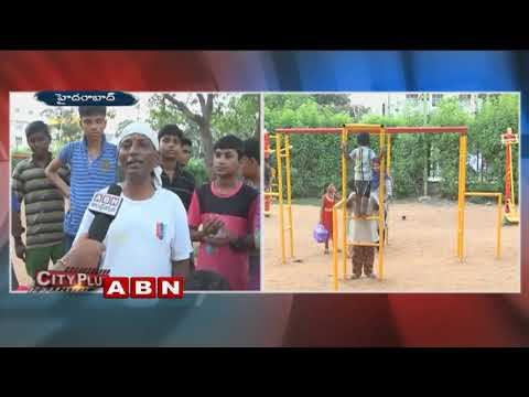 Public Talk on Outdoor Gym in KBR Park| ABN Telugu