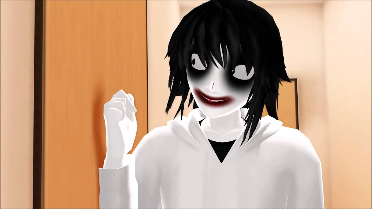 Mmd Creepypasta Unlock The Door Liu Youtube