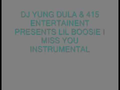 Lil Boosie- I Miss You Instrumental video