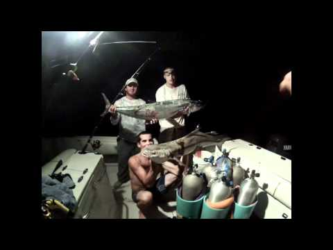 Naples FL Spearing and Fishing