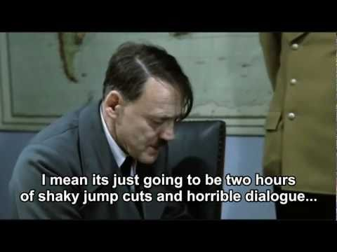 Hitler finds out Megan Fox is not in Transformers: Dark of the Moon