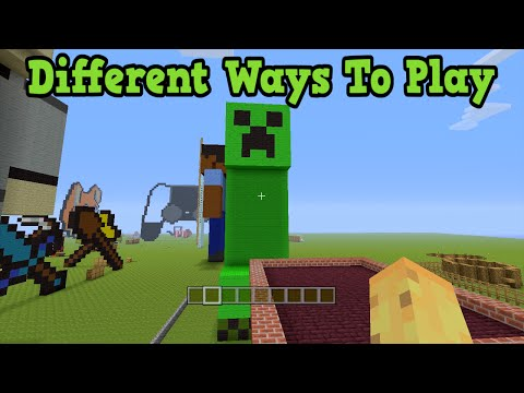 Minecraft - 5 Very Different Ways To Play