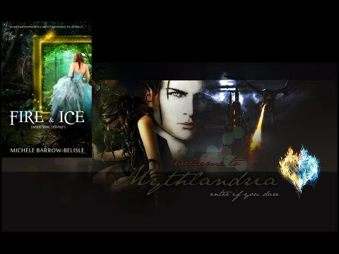 Teaser Trailer for FIRE & ICE (Faerie Song Trilogy Book 1) Teen Fantasy Romance Novel Book Series