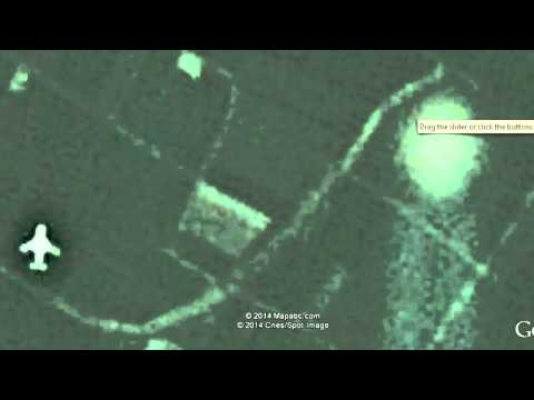 WOW! 2 Aircraft Escorting UFO, Caught On Google Earth Above China!