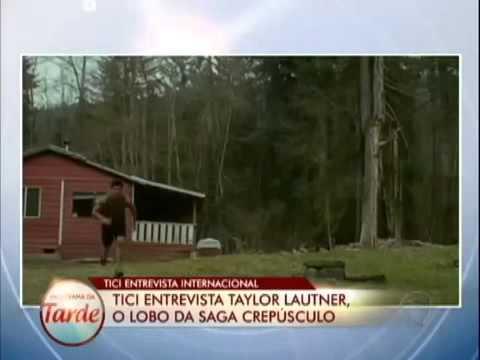 Ticiane Pinheiros - Entrevista o ator Taylor Lautner