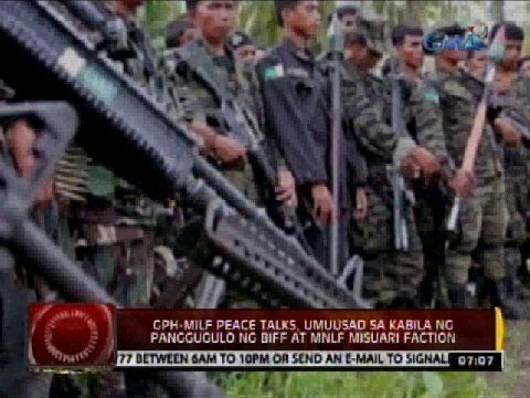 24 Oras: GPH-MILF Peace Talks, umuusad sa kabila ng panggugulo ng BIFF at MNLF Misuari Faction