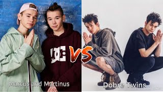 Marcus and Martinus VS The Dobre Twins Tik Tok (musical.ly)🎶❤️