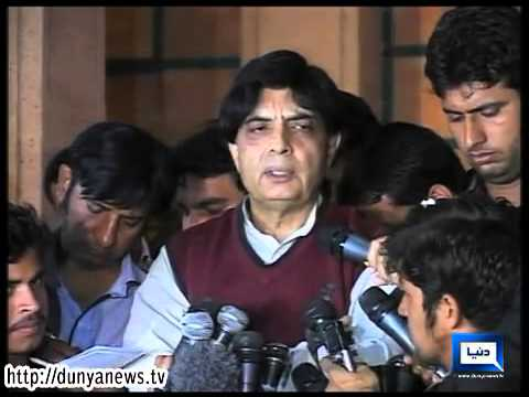Dunya News-Talks with Taliban will bring peace in Pakistan: Nisar