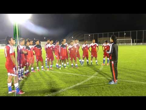 Doha: Nepal Vs Yemen: Coach Raju Kaji Shakya Briefing The Players. Goalnepal video