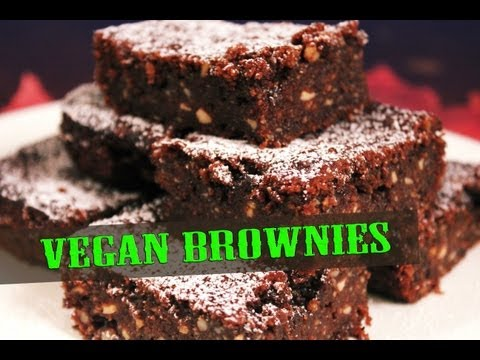 Vegan Brownies - Cooking with The Vegan Zombie