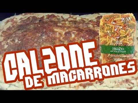 Calzone de macarrones Hacendado en Español | TeamRandomPlay