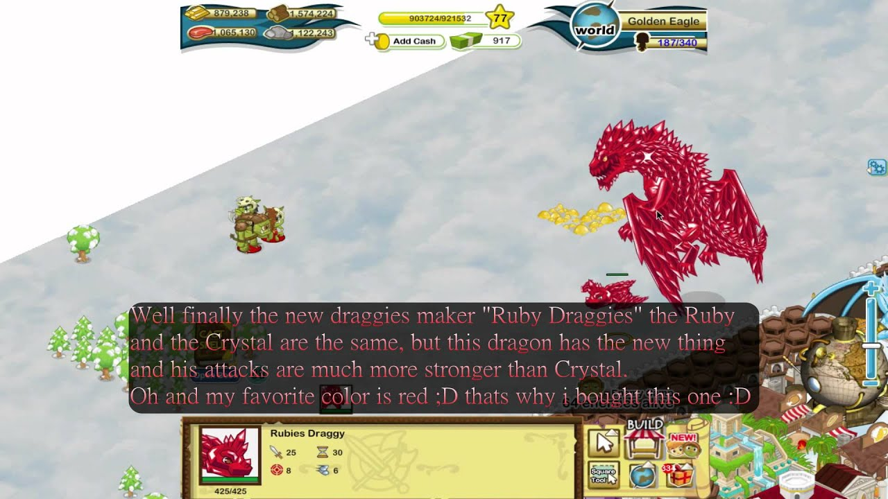 All Dragon in Social Empires Social Empires Ruby Dragon