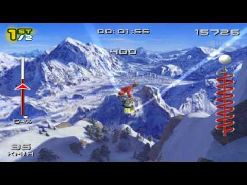 SSX3 on PCSX2 Playstation 2 Emulator (720p HD) Full Speed