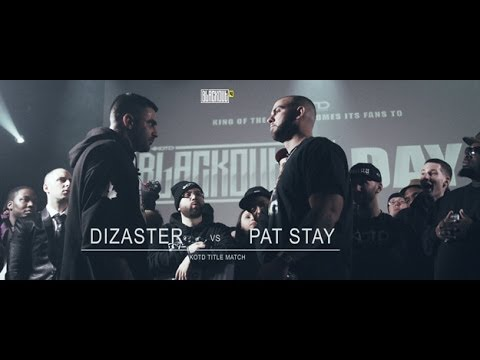 KOTD - Rap Battle - Pat Stay vs Dizaster (Title Match)