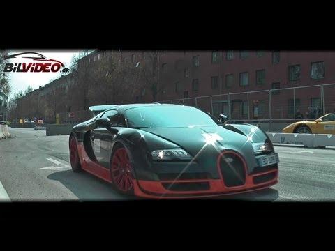 Bugatti Veyron EB Super Sport – engine sound from inside the car.