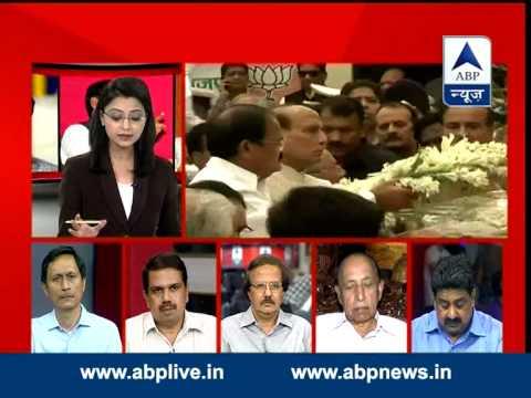 ABP News Debate: Gopinath Munde passes away