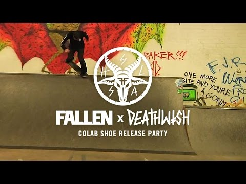 Fallen X Deathwish Colab Release Party