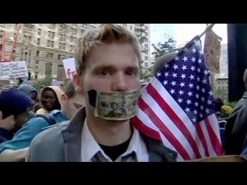 USA: Tausende protestieren in immer mehr Städten gegen das Finanzsystem