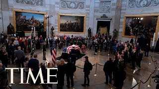 Funeral Service For Former U.S. President George H.W. Bush | TIME