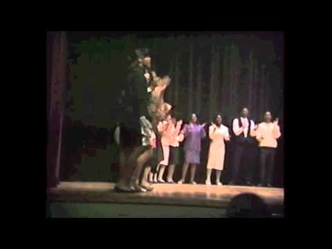 "Skyline High School Gospel Choir 1990 ""Ride on King Jesus"""