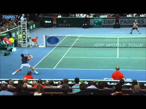 Paris 2014 Saturday Hot Shot Djokovic