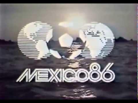 Заставка Чемпионата Мира по футболу 1986