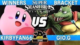 Smash Ultimate - Kirbyfan66 (Kirby) vs Gio.G (K. Rool) - CNB 172 Winners Bracket